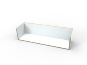 weißes Regal aus Holz von pure position