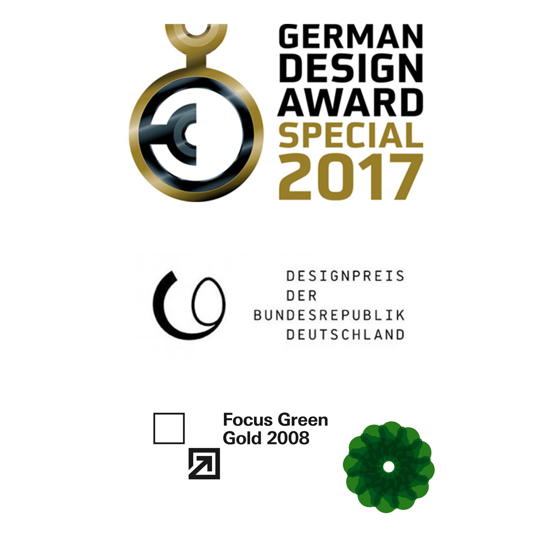Auszeichnung vom German Design Award von 2017