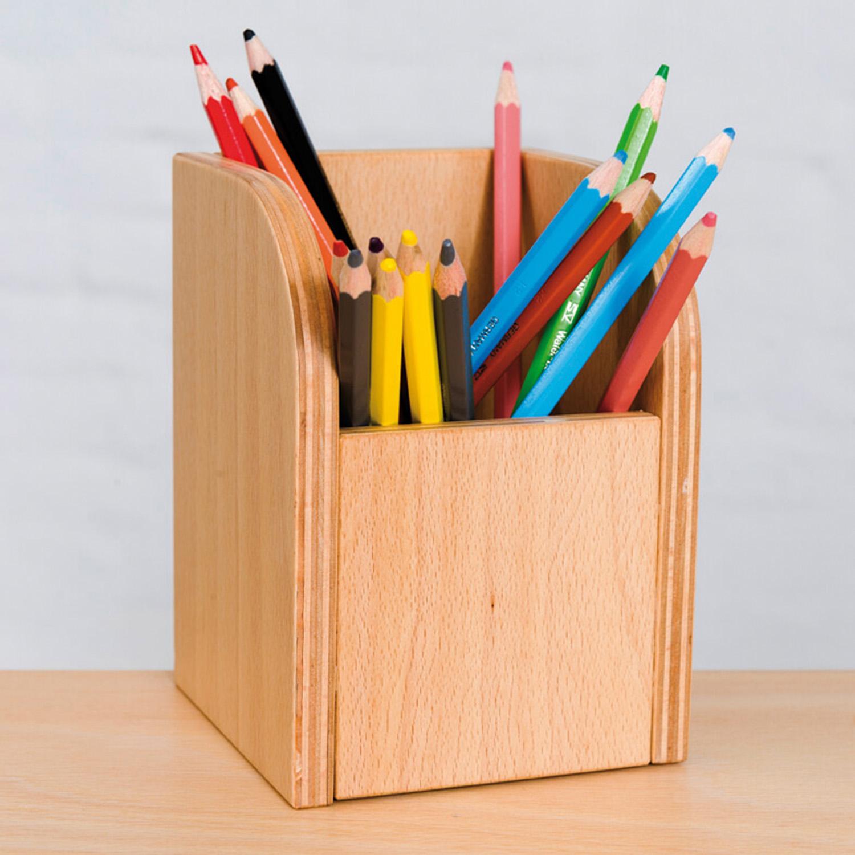 Stiftebox aus Holz von pureposition